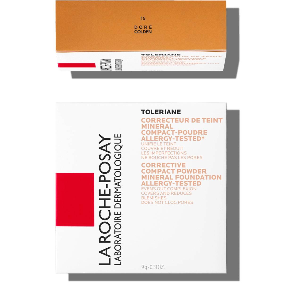 La Roche Posay Sensitive Toleriane Make up COMPACT POWDER 15Golden 333